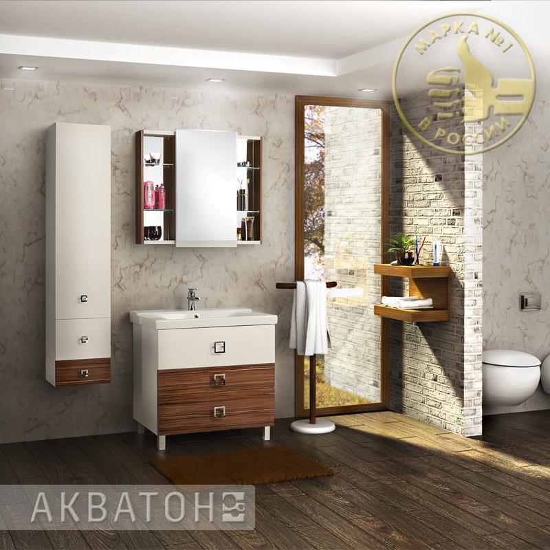 """Мебель для ванной фирмы """"Акватон"""""""