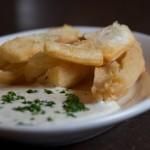 Фото 5: Блюдо из листьев юкки