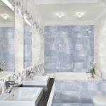 Фото 87: Цементная плитка в ванной