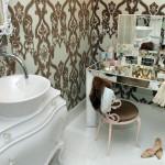 Фото 18: Дизайн ванной в женском стиле