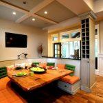 Фото 62: Кухонный уголок для большой семьи