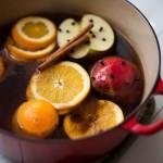 Фото 24: Глинтвейн с гвоздикой, апельсином и яблоком