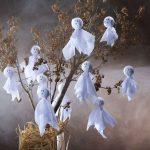 Фото 67: Декор дерева привидениями