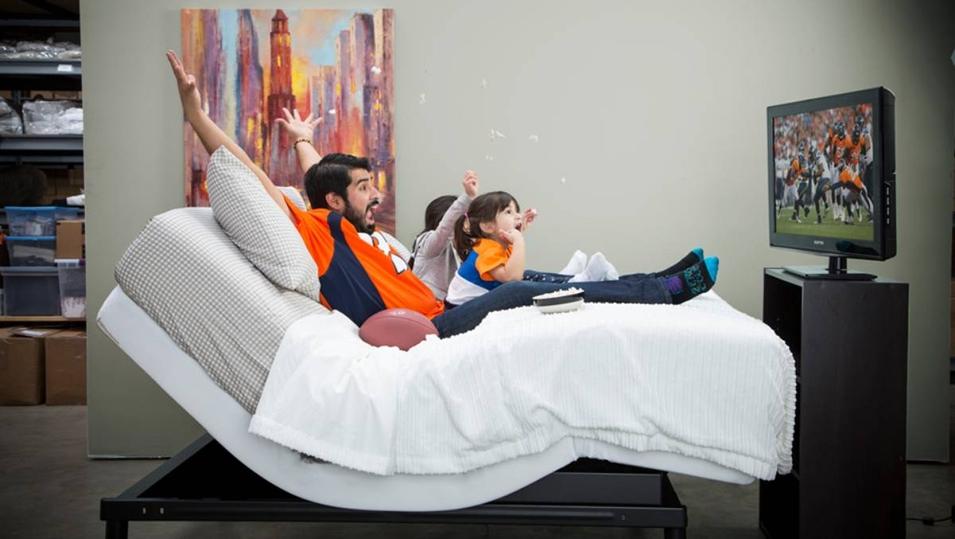 Эргономичная гнущаяся кровать