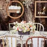 Фото 9: Оформление свадьбы в винтажном стиле