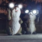 Фото 13: Солнечные светильники в виде мышек