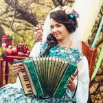 Фото 23: Свадьба в русском стиле