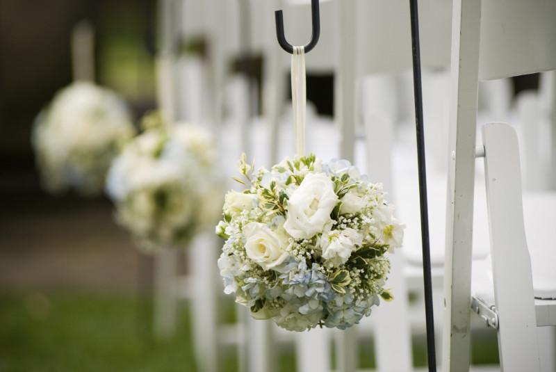 Свадебные цветочные гирлянды