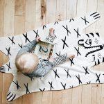 Фото 120: Хлопоквый коврик — имитация шкуры медведя