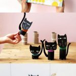 Фото 71: Черные кошки из втулок