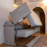 Фото 85: Кровать из дивана