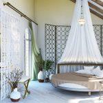 Фото 76: Круглая кровать в интерьере