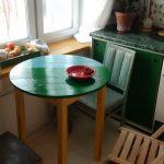 Фото 68: Круглый стол для маленькой кухни