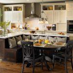 Фото 66: Кухонный уголок-стойка