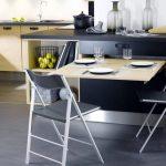 Фото 81: Выдвижной стол на кухне