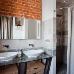 Фото 23: Лофт в ванной комнате