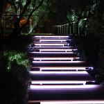 Фото 21: Освещение ступеней люминесцентными лампами