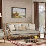 Фото 46: Набор мягкой мебели в классическом стиле
