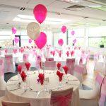 Фото 45: Свадебные шары в бело-розовых тонах