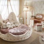 Фото 72: Круглая кровать для детской