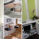 Фото 83: Откидные столы на кухне