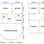 План дома 7x11