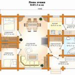 План дома 10800х7100