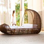 Фото 98: Плетеная кровать