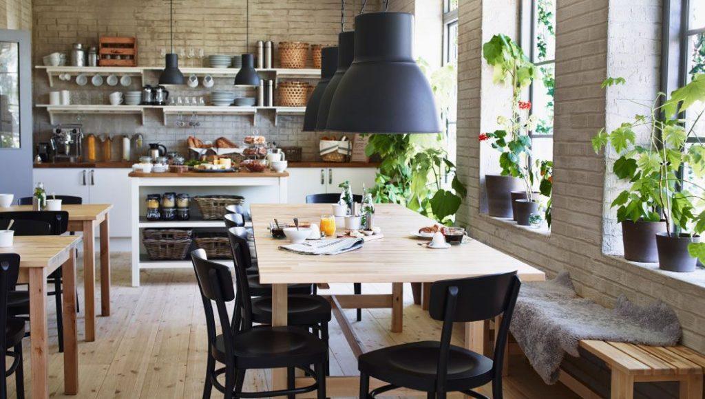 Дизайн стола на кухне