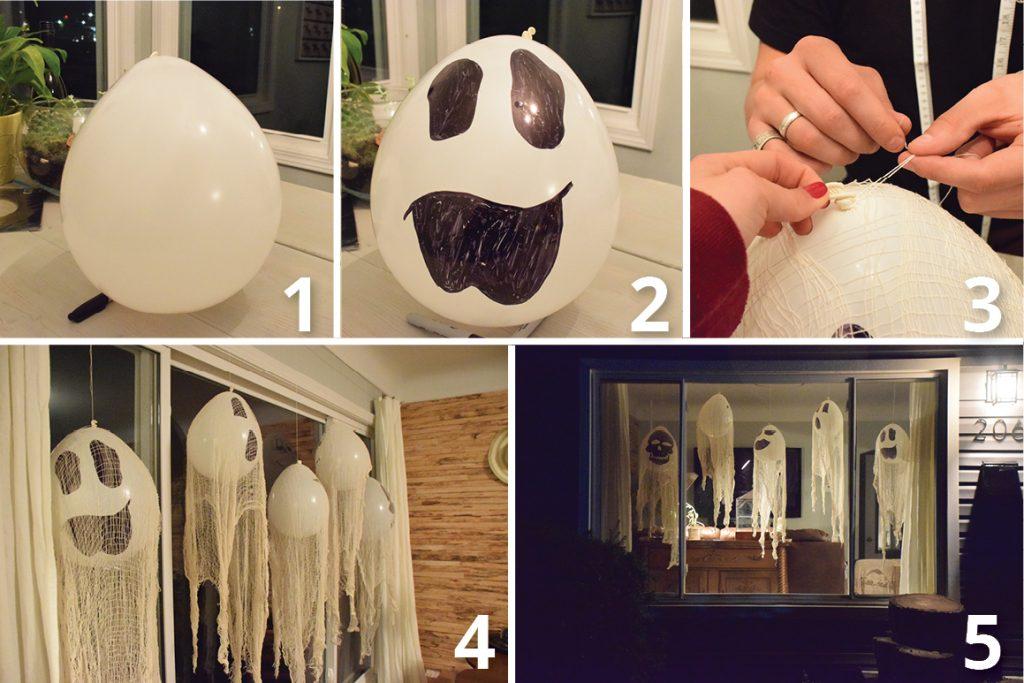 Привидения из воздушных шаров