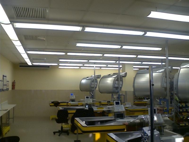 Промышленные люминесцентные светильнки