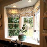 Фото 67: Римские шторы в ретро стиле