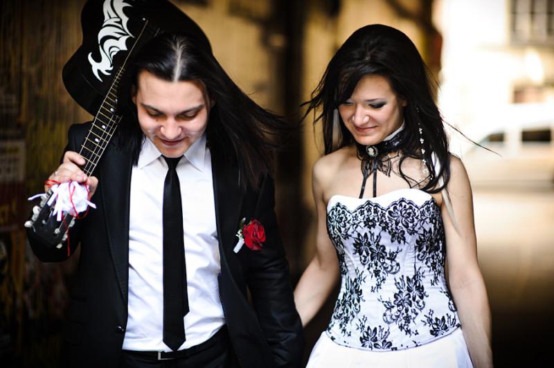 Свадьба в рок стиле