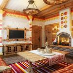 Фото 18: Русский народный интерьер дома