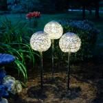 Фото 27: Круглые солнечные светильники
