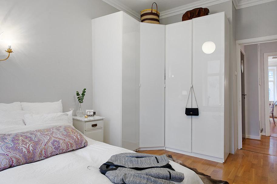 Угловой шкаф в дизайне