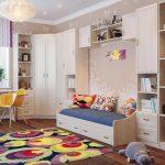 Фото 55: Угловой шкаф в детскую