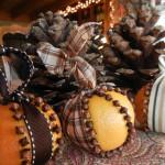 Фото 13: Новогоднее украшение с гвоздикой