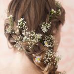 Фото 25: Украшение волос гипсофилой