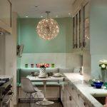 Фото 75: Кухонный уголок для узкой кухни