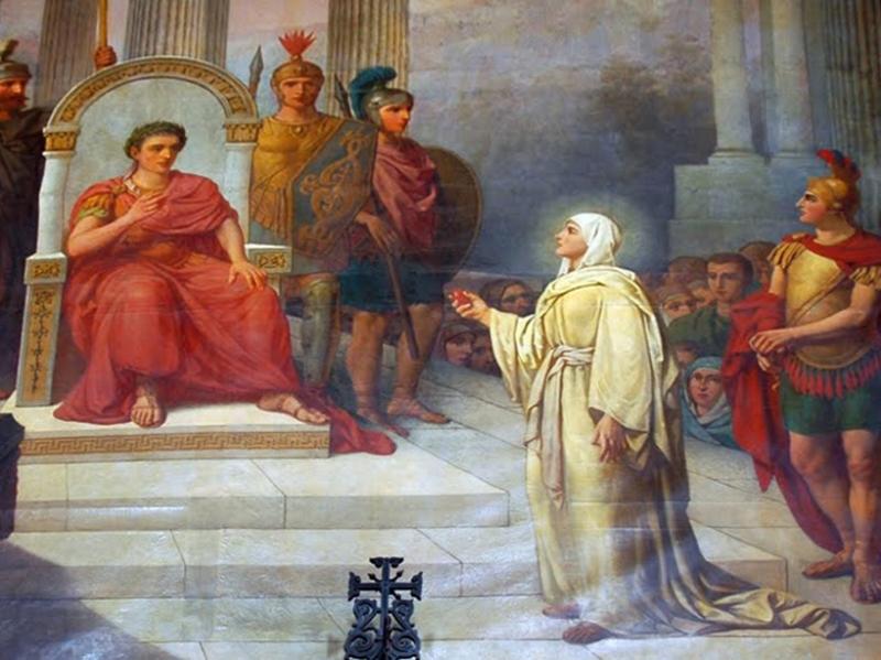 Легенда о яйце Марии Магдалены в дар императору при воскресении Хритса