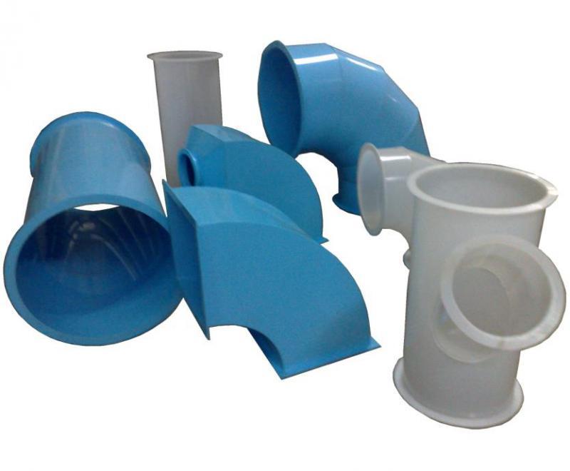 Вентиляционные пластиковые трубы