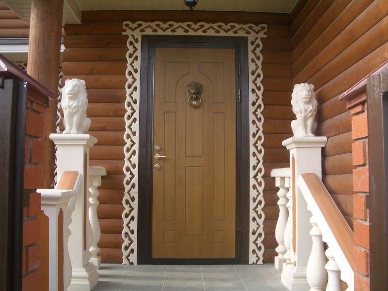 Металлическая входная дверь в дом своими руками
