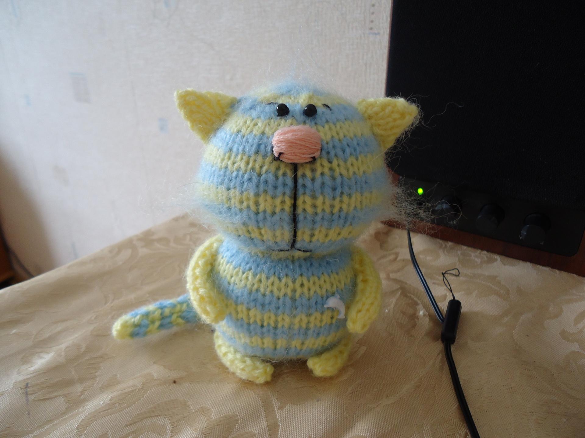 Детские игрушки вязание спицами