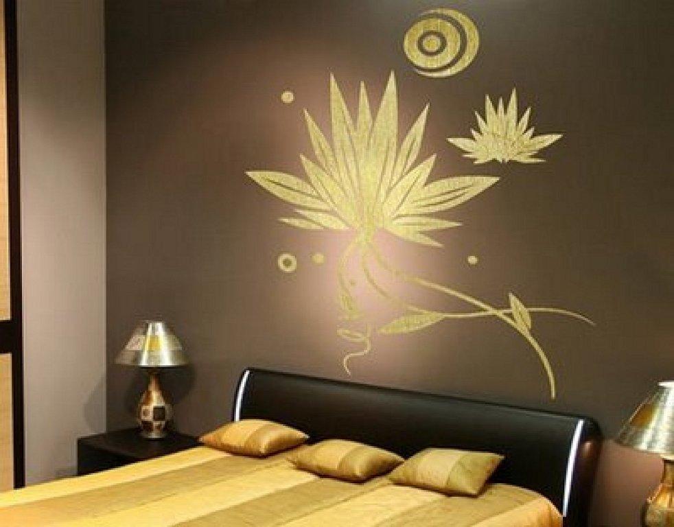 Рисунки для спальни на стене своими руками - Kazan-avon