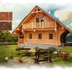 Фото 12: Проект деревянного дома из бруса