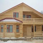 Фото 26: Деревянный дом из бруса