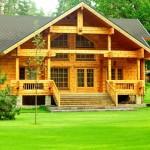 Фото 15: Деревянный дом из бруса