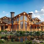 Фото 21: Большой деревянный дом