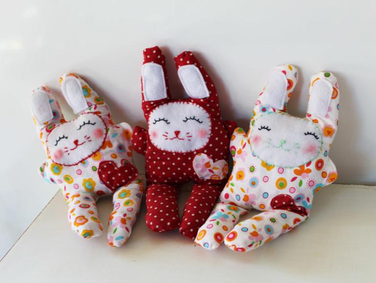 Необычные игрушки из текстиля своими руками 79